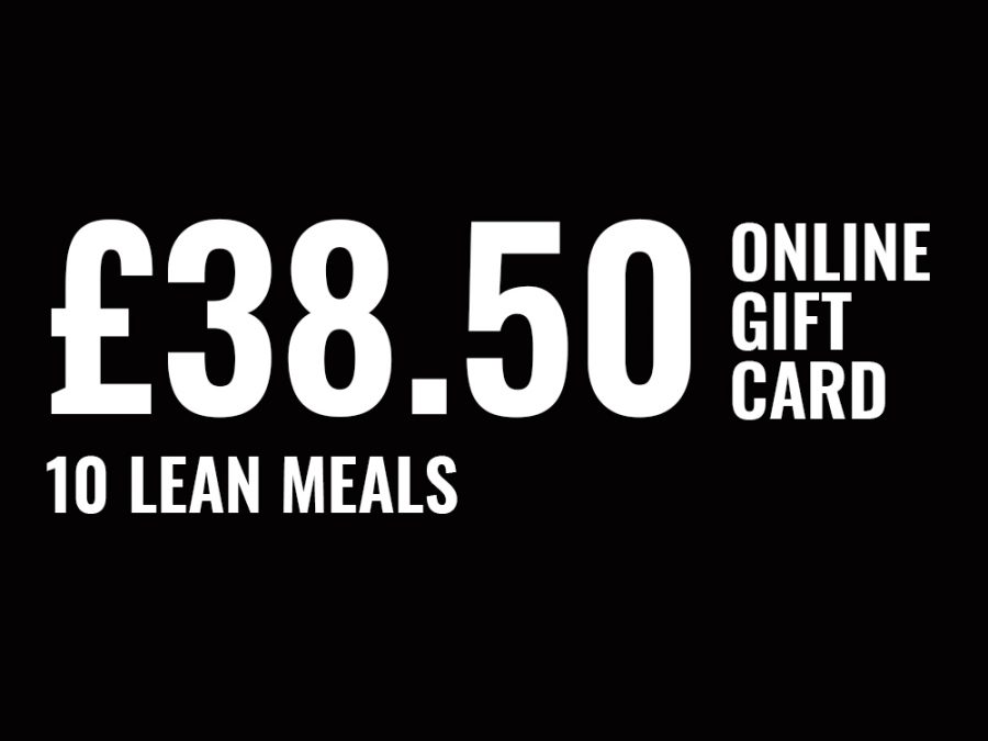 10 Lean Meals Online Gift Card