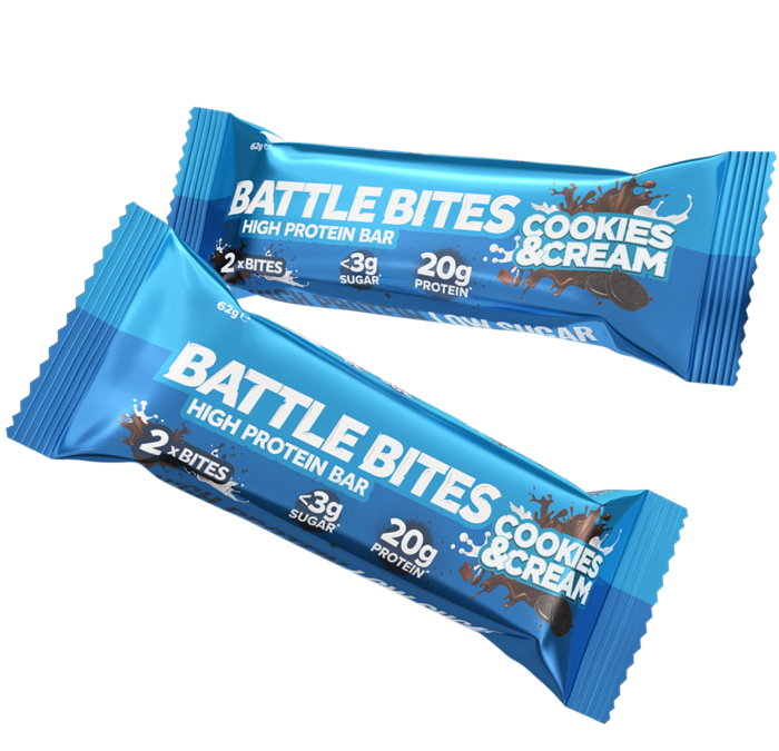 Battle Bites – Cookies & Cream