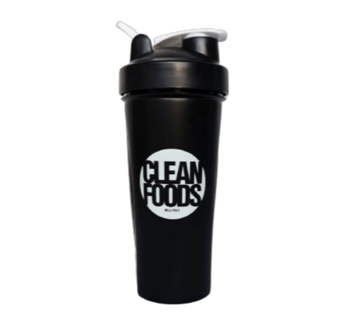Clean Foods Shaker Black