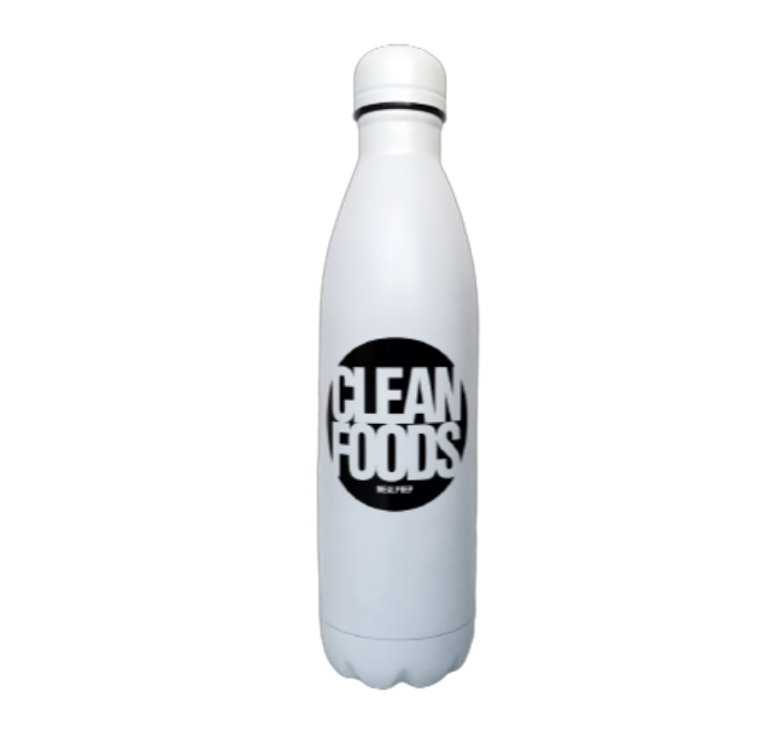 Clean Foods Insulated Steel Bottle 750ml