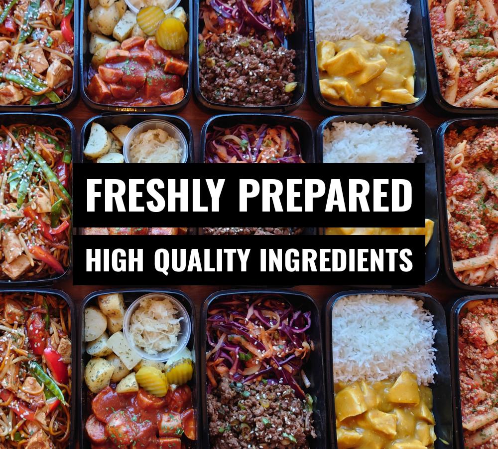 Freshly Prepared Meal Prep